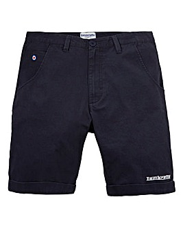Lambretta Turn Up Navy Chino Shorts