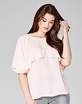 Grazia Cape Blouse