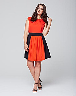 Wolf & Whistle Block Colour Dress