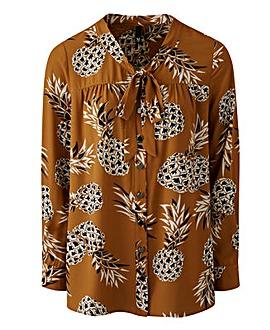 Manon Baptiste By Navabi Pineapple Shirt