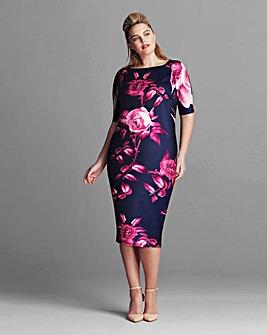 AX Paris Floral Scuba dress