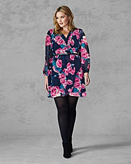 AX Paris Floral Wrap Dress