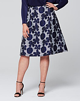 AX Paris Full Printed Skirt