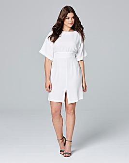 Closet Split Front Dress