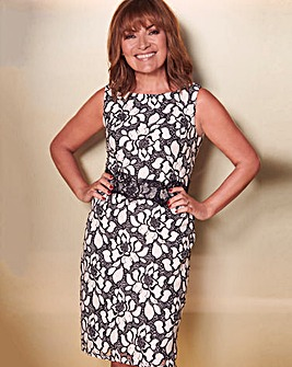 Lorraine Kelly Lace Detail Dress