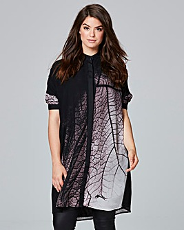 Religion Oversized Succession Tunic