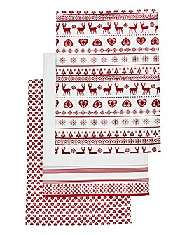 Cherish Set of 3 Tea Towels
