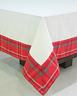 Tartan Large Rectangle Table Cloth