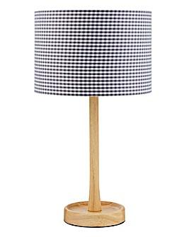 Oakton Wooden Base Table Lamp