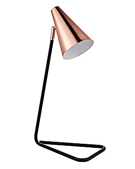 Sylvan Copper And Metal Table Lamp