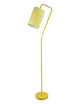 Genie Metal Floor Lamp Yellow