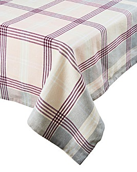 Soft Rustic Large Rectangle Tablecloth