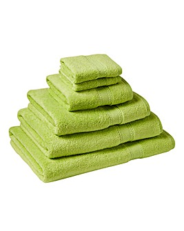 Supersoft Snuggle Towel Range Apple
