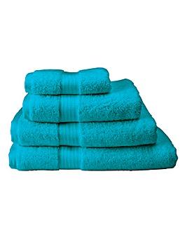 Pima Luxury Towel Range -Teal