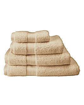 Pima Luxury Towel Range -Latte