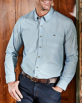 W&B Blue Long Sleeve Shirt R