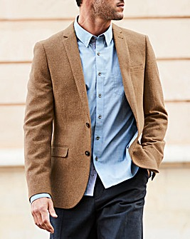 W&B Camel Wool Mix Blazer R