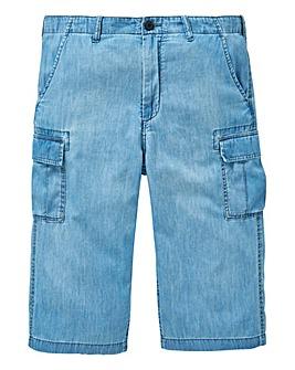 W&B Chambray 3/4 Pants
