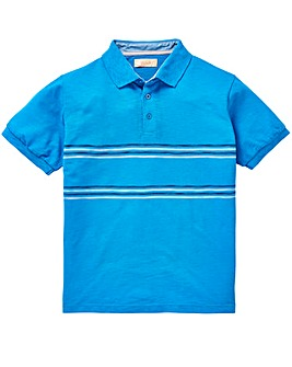 W&B Blue Polo Shirt L
