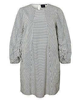 I.Scenery Dyveke Stripe Dress