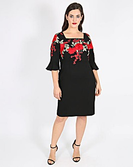 Lovedrobe Embroidered Dress