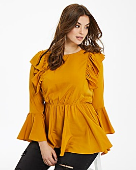AX Paris Frilled Blouse