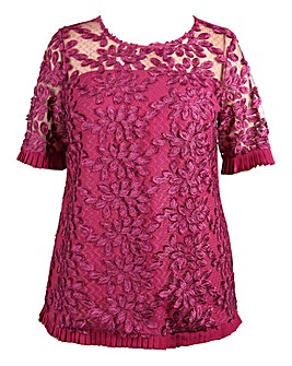 Lovedrobe 3D Detail Lace Top
