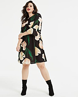 AX Paris Curve Floral Print Dress