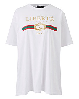 AX Paris Curve Liberties Tee