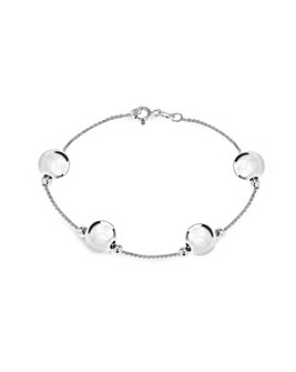 Sterling Silver Xl Ball Bracelet