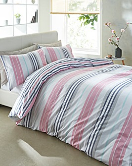 Galeno Reversible Print Duvet Cover Set