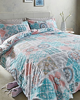 Milano Reversible Print Duvet Cover Set