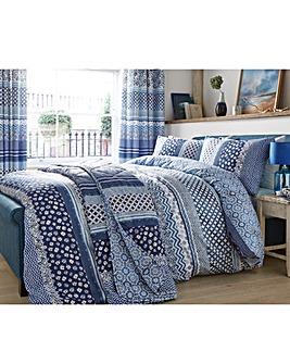 Naples Printed Duvet Cover Set