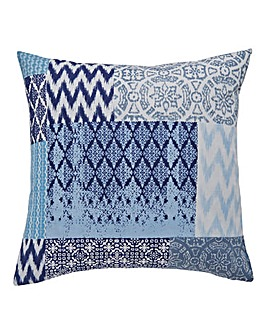 Seville Patchwork Square Filled Cushion