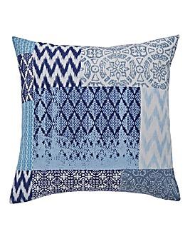Seville Patchwork Square Filled Cushion