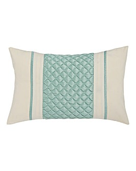 Corine Quilted Boudoir Filled Cushion