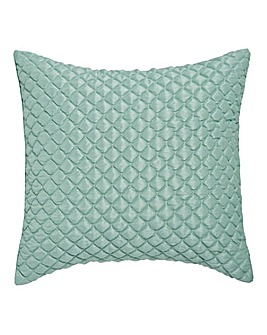 Corine Quilted Square Filled Cushion