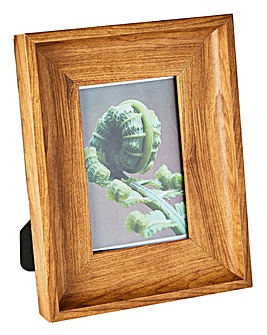 Wooden Effect Photo Frame 4x6in