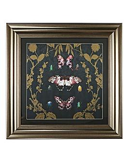 Framed Butterfly Print
