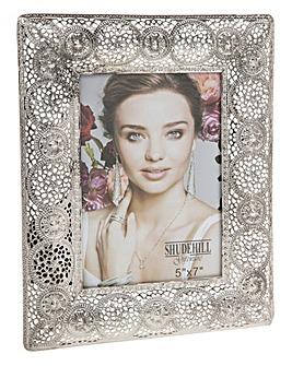 Casbah Vintage Silver Frame 5x7in