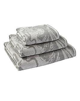 Marble Towel Range - Grey
