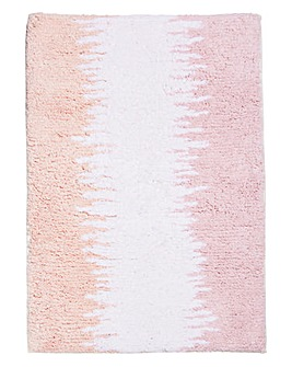 Ombre Bath Mat Pink