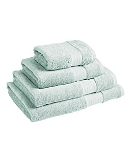 Feather Touch Towels Range - Duck Egg