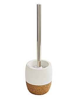 Rope Toilet Brush & Holder