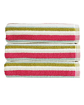 Christy Kalifi Stripe Towels Multi