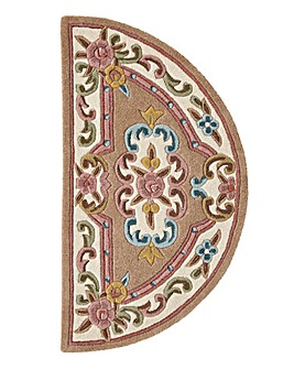 Dynasty Wool Half Moon Rug