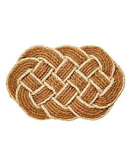 Rope Knot Door Mat