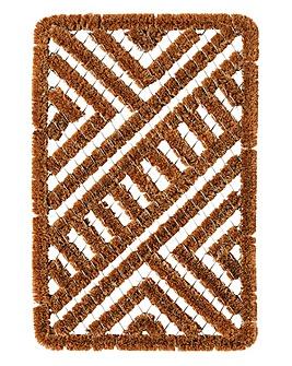 Metal & Coir Brush Mat