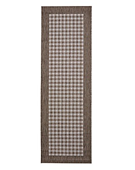 Gingham Check Runner