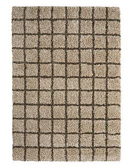 Imperial Shaggy Check Rug Large